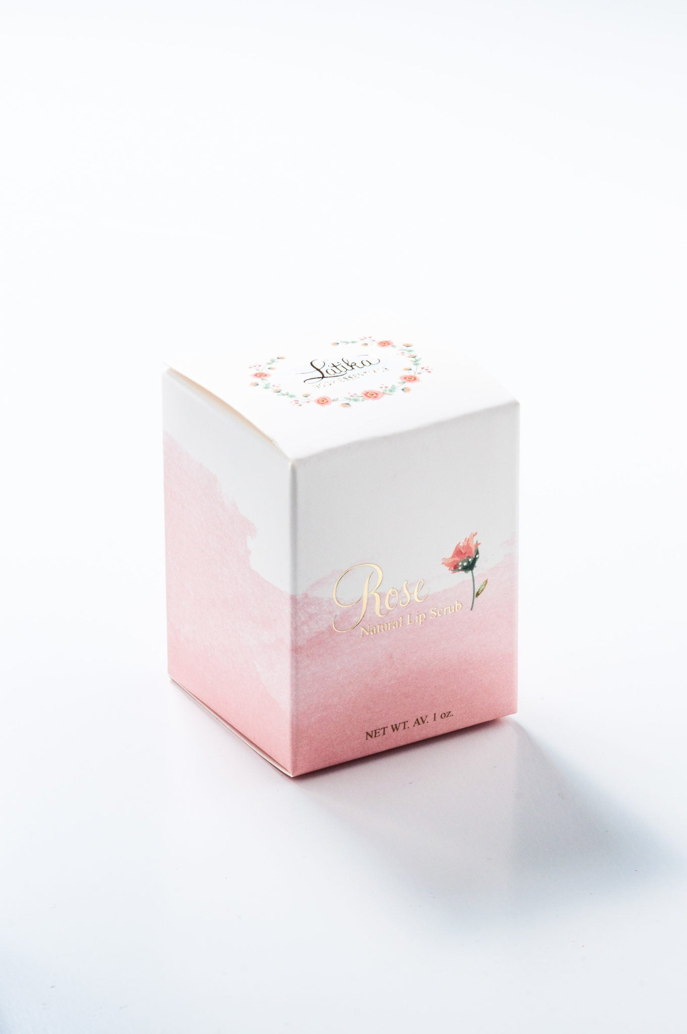 ROSE – Edible Sugar Lip Scrub Kit