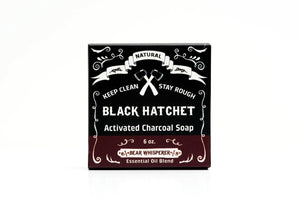 Bear Whisperer Black Hatchet- Charcoal Bar Soap