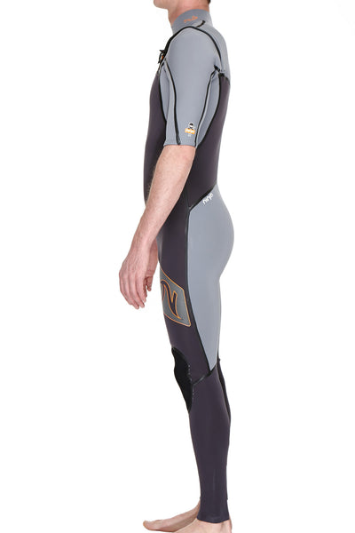 Boys Ninja 2mm Short Sleeve Wetsuit - Nutz Life - 3