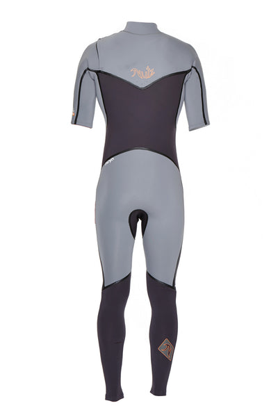 Boys Ninja 2mm Short Sleeve Wetsuit - Nutz Life - 2