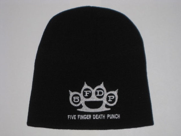 FIVE FINGER DEATH PUNCH -  Logo - EMBROIDERED  BEANIE