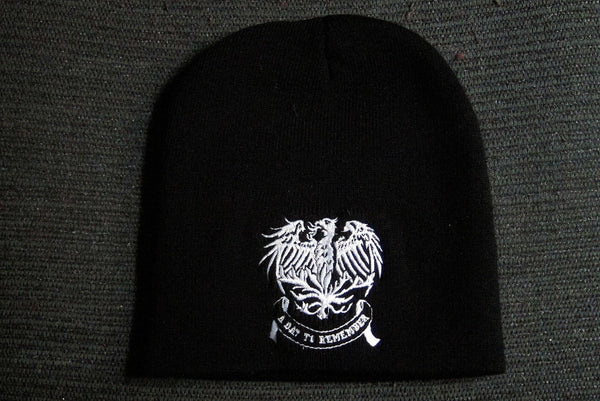 A DAY TO REMEMBER  -Embroidered -  Logo Beanie - One Size Fits All