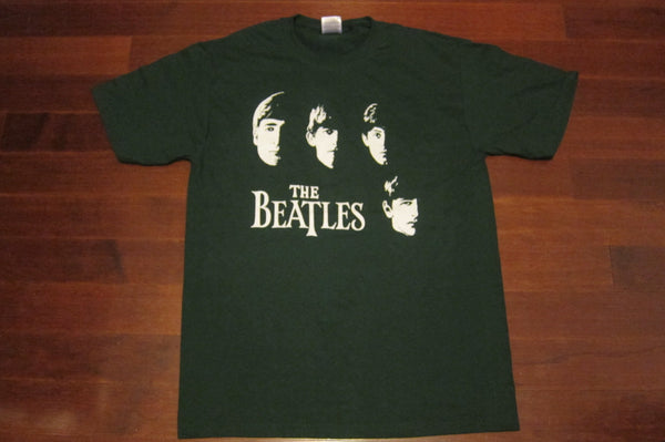 BEATLES - First Album Cover-Rare Vintage - T-Shirt in Forest Green