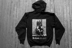 BEATLES- First Album Cover- VINTAGE ZIPPER HOODIE - Two Sided Print