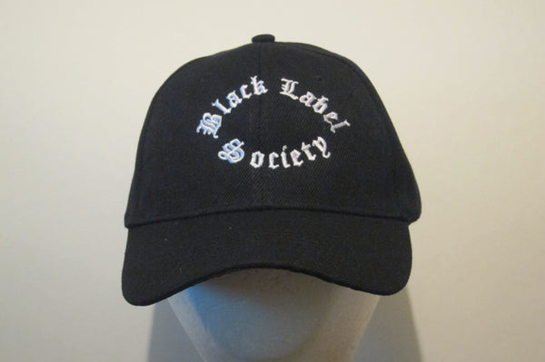 Black Label Society- Embroidered - Baseball Cap - Adjustable Velcro Back - One Size Fits All UNISEX