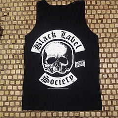 BLACK LABEL SOCIETY  Old English BLS Logo / Sonic Brew Tank Top- Two Sided Print