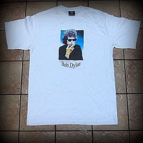 BOB DYLAN  - Up Close  - T-Shirt - UNISEX