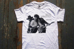 BRUCE SPRINGSTEEN - BORN TO RUN -Two Sided Print - T-SHIRT