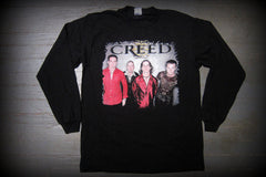 CREED - Human Clay - Two Sided Printed - Long Sleeve Shirt