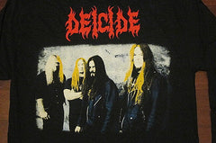DEICIDE -Once Upon The Cross- Two Sided Printed -Long Sleeve Shirt.