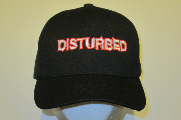 DISTURBED - EMBROIDERED BASEBALL CAP - Adjustable Velcro Back -Unisex