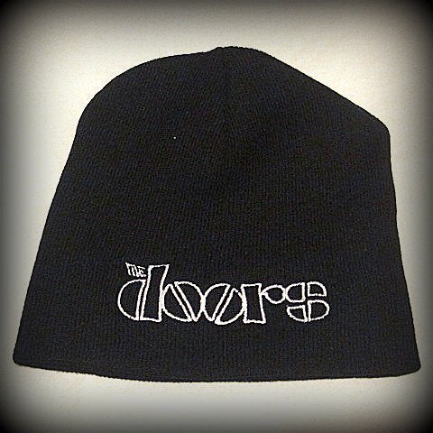 The Doors -Embroidered -  Logo Beanie - One Size Fits All