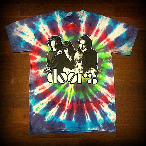 DOORS - Group Photo - Tie-Dye T-shirt