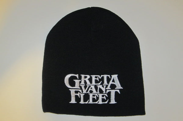 GRETA VAN FLEET - Embroidered - Logo Beanie - One Size Fits All -UNISEX