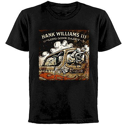 HANK WILLIAMS III - Long Gone Daddy - T-Shirt