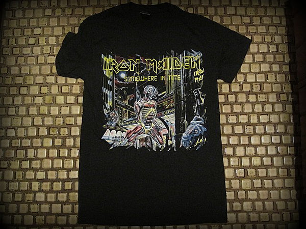 Iron Maiden - Somewhere  In Time - T-Shirt