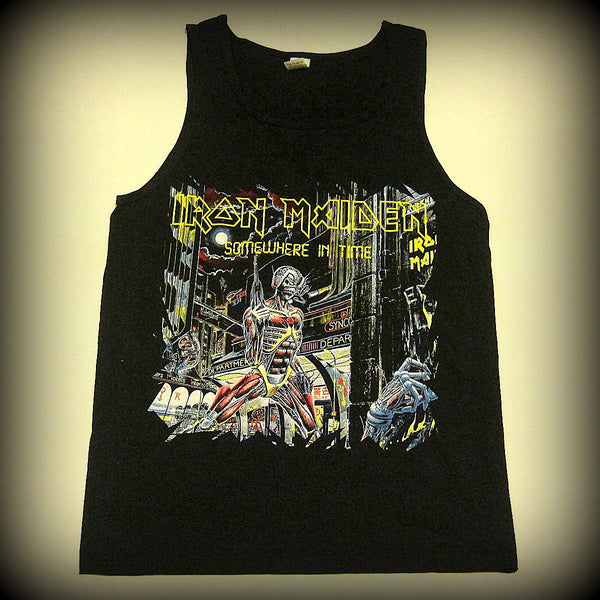 Iron Maiden - Somewhere  In Time - Tank Top