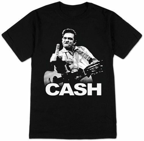 JOHNNY CASH - Flipping The Bird - T-shirt