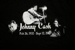 JOHNNY CASH - Life Time Awards - Two Sided Printed - T-shirt