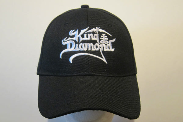 KING DIAMOND- Embroidered - Baseball Cap - Adjustable Velcro Back- One Size Fits All UNISEX