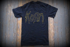 KORN - Group -T- Shirt > Printed Front And Back