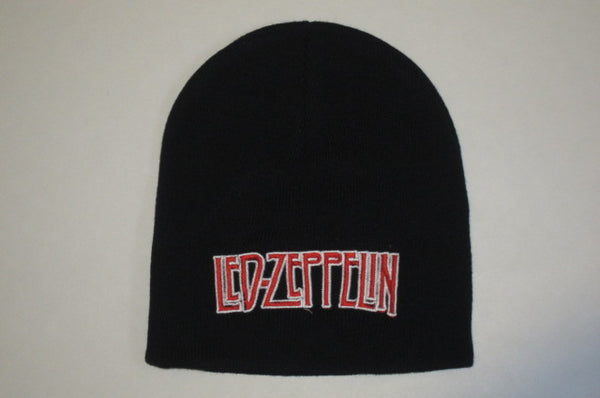 LED ZEPPELIN  -Embroidered -  Logo Beanie - One Size Fits All