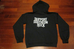 LYNYRD SKYNYRD -Support Southern Rock- Two Sided Printed - Unisex Hoodie