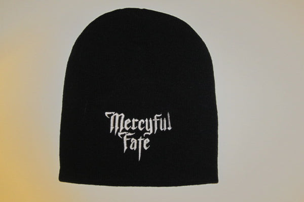 MERCYFUL FATE- Embroidered Logo- Beanie - One Size Fits All- -UNISEX