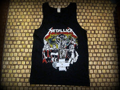 METALLICA - Dedicated To Cliff Burton  -Tank Top - Printed Front And Back