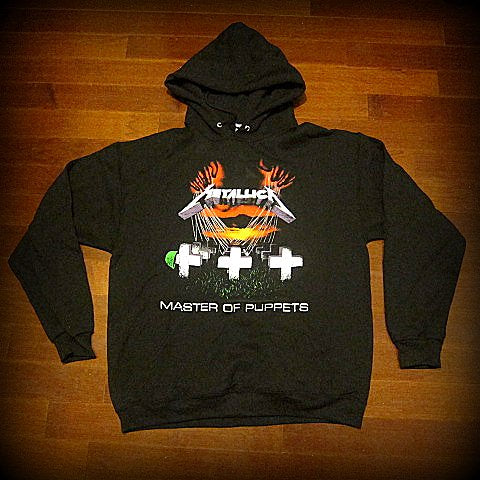 METALLICA - Master Of Puppets - Hoodie - Two Sided Print