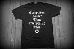 Motorhead - Everything Louder / England -Two Sided Print - T-shirt >>> Black