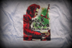 Nick Cave &The Bad Seeds-White - T-Shirt: