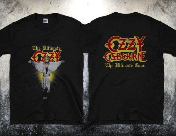 OZZY OSBOURNE - The Ultimate Ozzy-Unisex T-Shirt - Two Sided Print