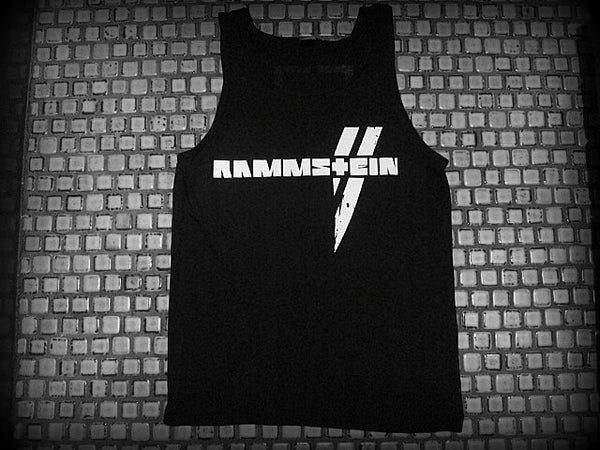 Copy of RAMMSTEIN -Logo - Two Sided Print -Tank Top