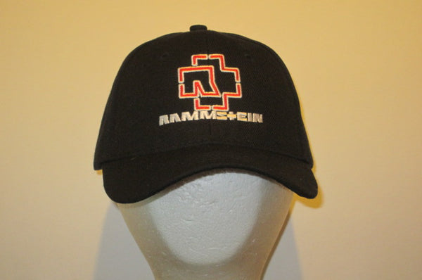 RAMMSTEIN - Embroidered - Baseball Cap - Adjustable Velcro Back - One Size Fits All UNISEX