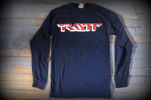 RATT - Ratt n Roll - Unisex  Long Sleeve Shirt- Two Sided Print
