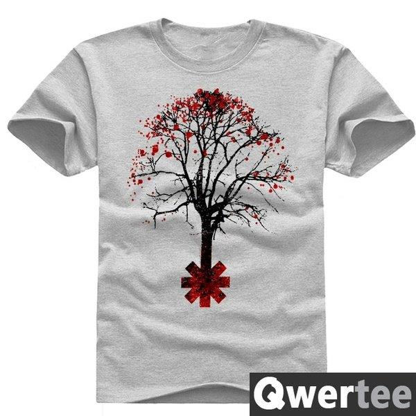 RED HOT CHILI PEPPERS - DEAD TREE- T-Shirt- Color White