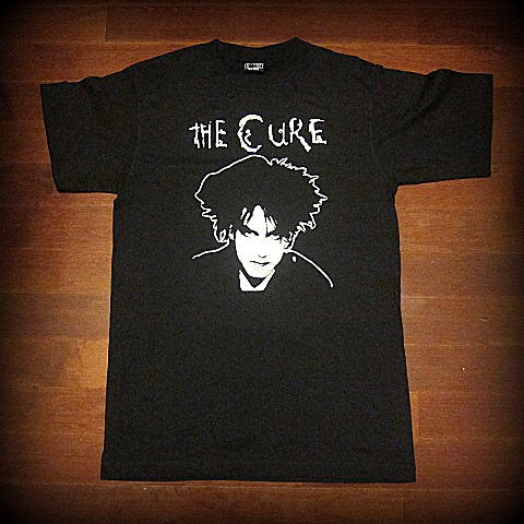 Cure - Robert Smith -Up Close - T Shirt