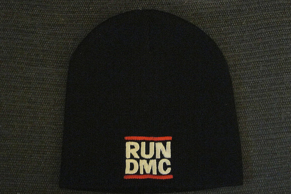 RUN DMC  - Embroidered - Logo Beanie