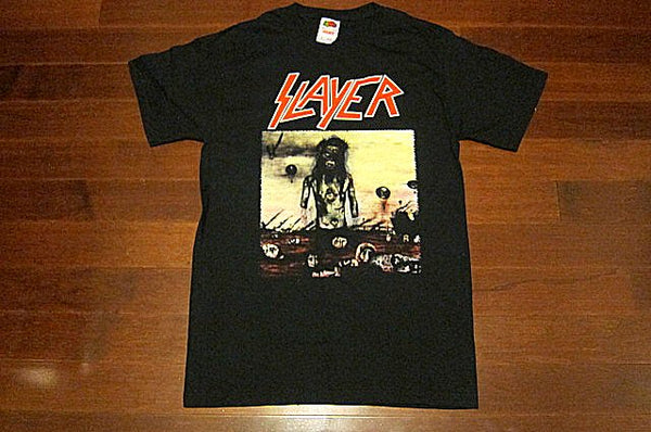 SLAYER - Christ Illusion - Two Sided Printed -T-Shirt