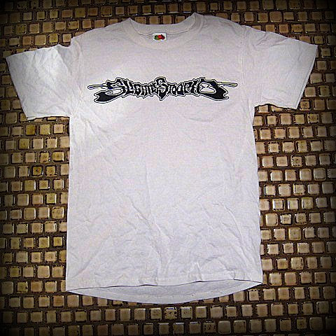 SLIGHTLY  STOOPID - Logo / Skeletons - Two Sided Printed - T-Shirt