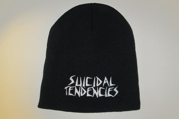 SUICIDAL TENDENCIES  -Embroidered logo  Beanie - One Size Fits All- -UNISEX
