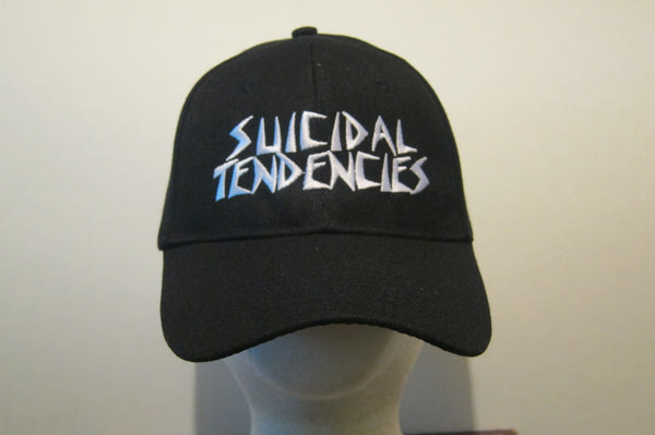 SUICIDAL TENDENCIES- Embroidered - Baseball Cap - Adjustable Velcro Back - One Size Fits All UNISEX