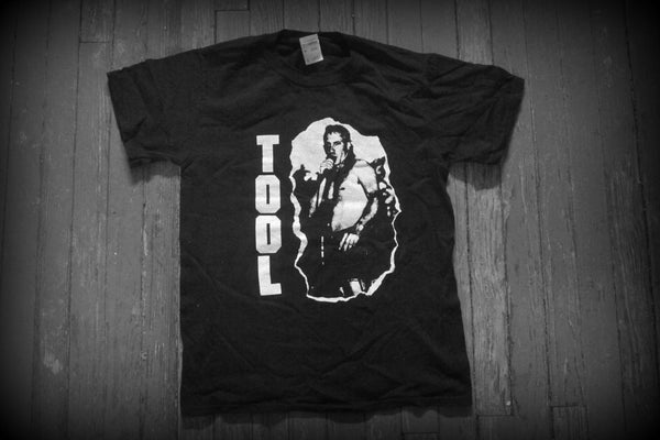 TOOL  / MAYNARD KEENAN  / LOGO - Two Sided Printed - T-SHIRT