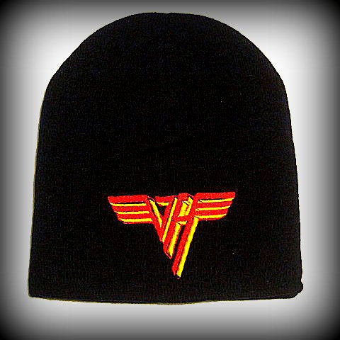VAN HALEN- Embroidered - Logo Beanie - One Size Fits All -UNISEX