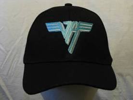 VAN HALEN - Embroidered - Baseball Cap #1 - Adjustable Velcro Back - One Size Fits All