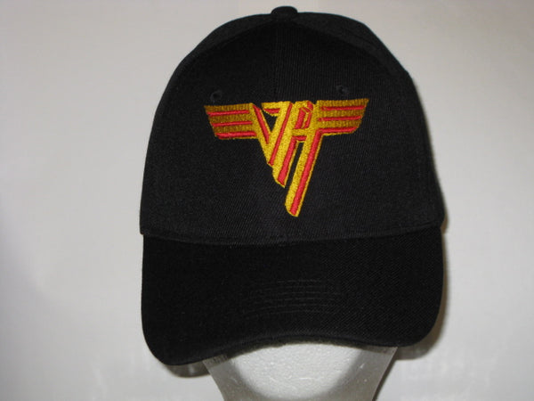 VAN HALEN - Embroidered - Baseball Cap - Adjustable Velcro Back - One Size Fits All