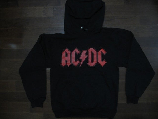 AC/DC - LOGO AND HIGHWAY TO HELL-TWO SIDED PRINT-HOODIE