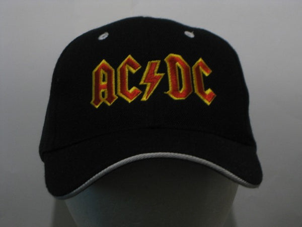 AC/DC - EMBROIDERED BASEBALL CAP - Fitted Flexfit