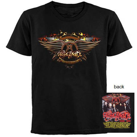 AEROSMITH This Is Rock' N Roll Tour 2009 -T-Shirt